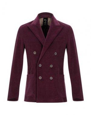 Пиджак 26.7 TWENTYSIXSEVEN. Цвет: баклажанный