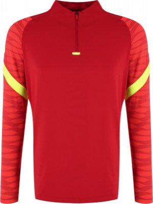 Джемпер футбольный мужской Dri-FIT Strike, размер 50-52 Nike. Цвет: красный