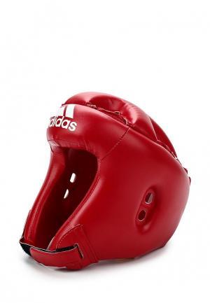 Шлем adidas Combat Rookie. Цвет: красный