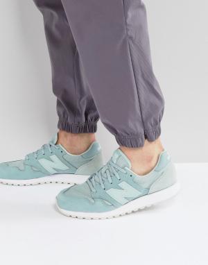 Синие кроссовки 520 U520AE New Balance. Цвет: синий