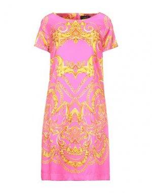 Короткое платье CLIPS. Цвет: фуксия