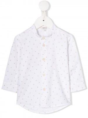Рубашка с принтом Aletta. Цвет: белый