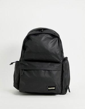 Черный рюкзак Stevenson-Черный цвет Hi-Tec