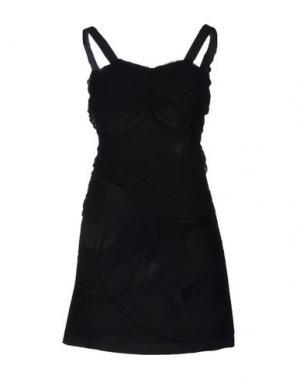 Короткое платье STEFFEN SCHRAUT. Цвет: черный