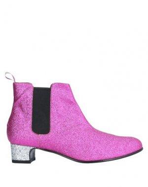 Полусапоги и высокие ботинки NEVER EVER. Цвет: светло-фиолетовый