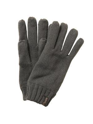Перчатки TOM TAILOR. Цвет: темно-серый