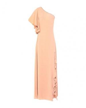 Длинное платье RINASCIMENTO. Цвет: телесный