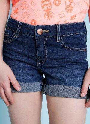 Джинсовые шорты O`Stin. Цвет: синий