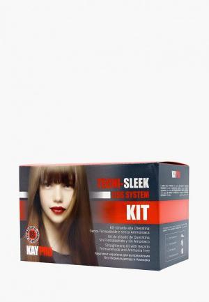 Набор для ухода за волосами KayPro кератинового выпрямления. Цвет: прозрачный