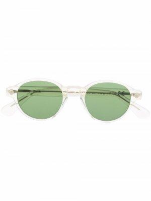 Солнцезащитные очки с затемненными линзами Epos. Цвет: зеленый