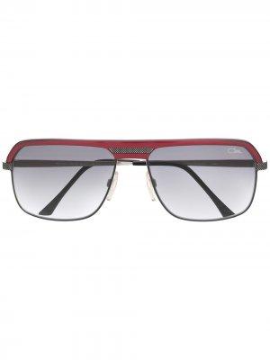 Солнцезащитные очки-авиаторы 9040 Cazal. Цвет: красный