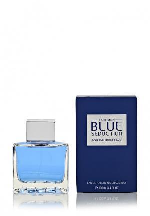 Туалетная вода Antonio Banderas Blue seduction 100 мл. Цвет: белый