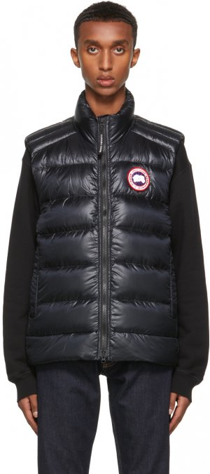 Black Down Crofton Vest Canada Goose. Цвет: black