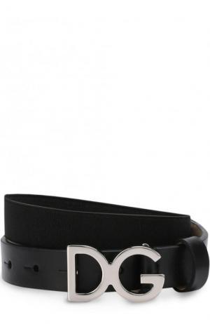 Ремень Dolce & Gabbana. Цвет: чёрный