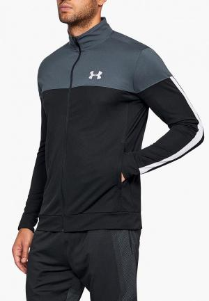 Олимпийка Under Armour SPORTSTYLE PIQUE JACKET. Цвет: черный