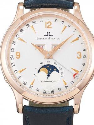Наручные часы Master Calendar pre-owned 39 мм Jaeger-LeCoultre. Цвет: серебристый