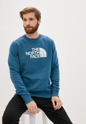 Свитшот The North Face M DREW PEAK CREW. Цвет: синий