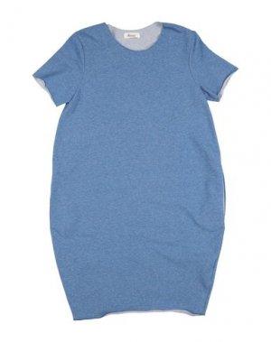Платье BISOUS. Цвет: грифельно-синий