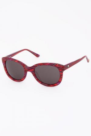 Солнцезащитные очки Missoni. Цвет: красный
