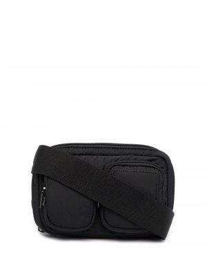 Tiger Head motif belt bag Kenzo. Цвет: черный
