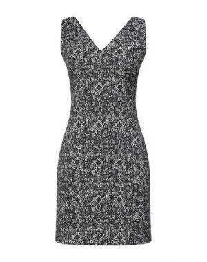 Короткое платье H2O ITALIA. Цвет: черный