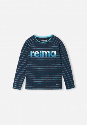 Джемпер из материала Jersey Piiloon Синий Reima. Цвет: синий