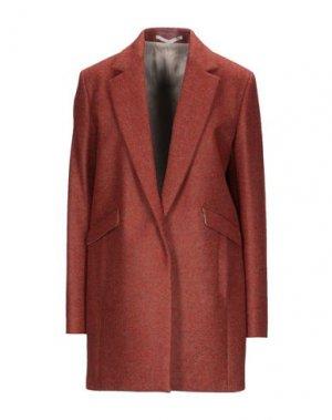 Пальто MAURO GRIFONI. Цвет: ржаво-коричневый