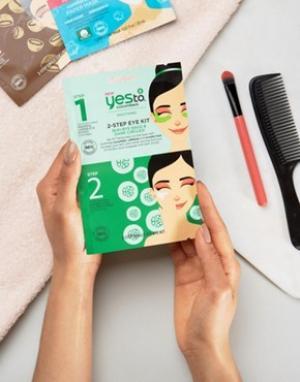 Набор с 2-этапным применением маской для кожи вокруг глаз Yes To Cucumbers-Бесцветный