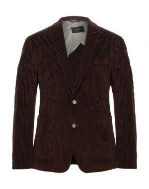 Пиджак CINQUE. Цвет: темно-коричневый