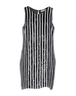 Короткое платье HOLLY GOLIGHTLY. Цвет: черный
