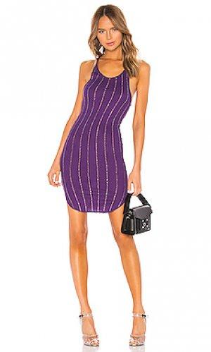Платье-майка shea Frankie B. Цвет: фиолетовый