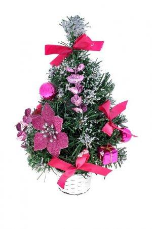 Декоративная елка Зимнее волшебство. Цвет: зеленый