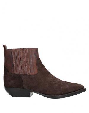 Полусапоги и высокие ботинки J|D JULIE DEE. Цвет: какао