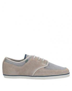Низкие кеды и кроссовки ELEMENT. Цвет: серый