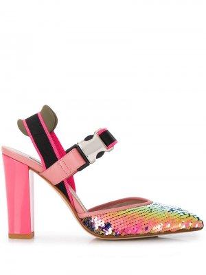 Босоножки на каблуке Alberto Gozzi