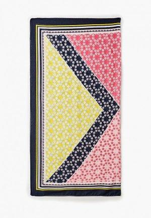 Платок Tom Tailor. Цвет: разноцветный