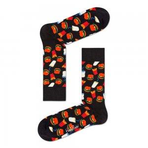 Hamburger Socks Happy. Цвет: черный