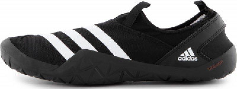 Тапочки коралловые мужские adidas Jawpaw, размер 42. Цвет: черный