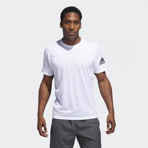 Футболка FreeLift Sport Ultimate Athletics adidas. Цвет: белый