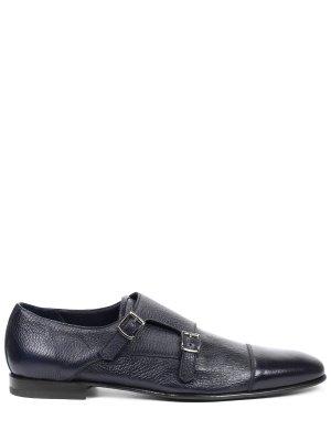 Туфли-монки кожаные BARRETT