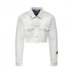Джинсовая куртка Heron Preston. Цвет: синий