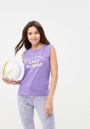 Майка OVS. Цвет: фиолетовый