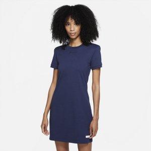 Платье с коротким рукавом Sportswear Icon Clash - Синий Nike