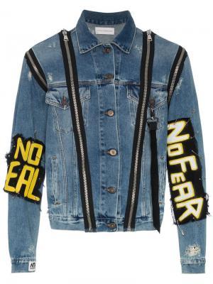 Джинсовая куртка Monster Faith Connexion