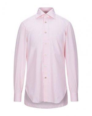 Pубашка KITON. Цвет: розовый