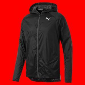 Ветровка Lightweight Hooded Jacket PUMA. Цвет: черный