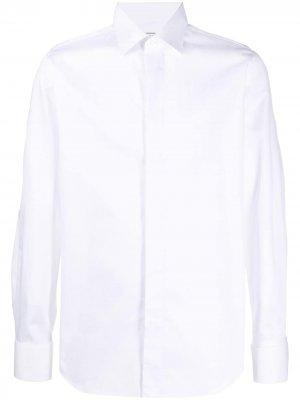 Рубашка с длинными рукавами Xacus. Цвет: белый