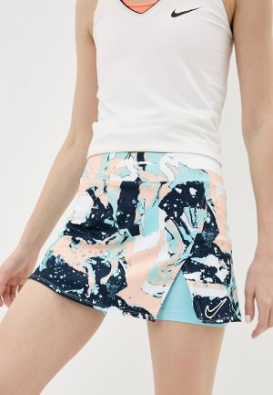 Юбка-шорты Nike W NKCT VICTORY SKIRT STRT PR. Цвет: разноцветный