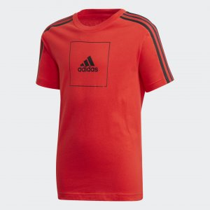 Футболка Athletics Club adidas. Цвет: красный
