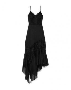 Длинное платье CHARO RUIZ IBIZA. Цвет: черный